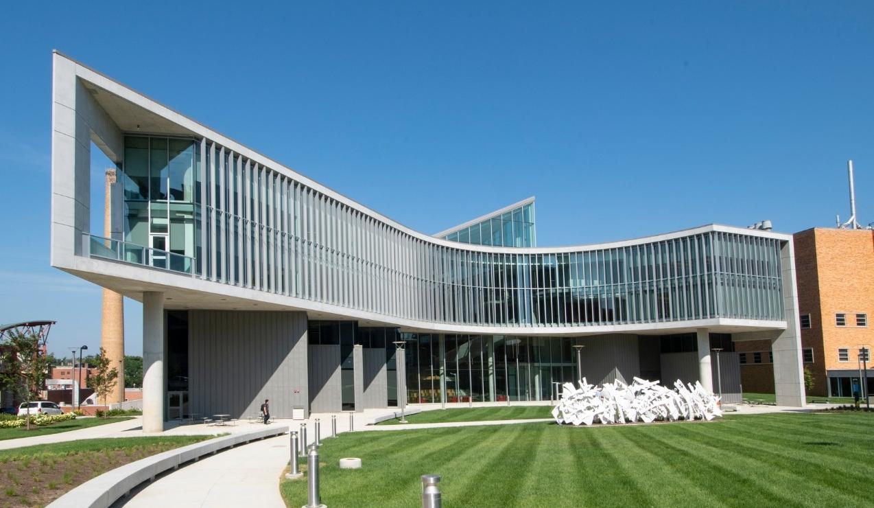Rendering of health sciences building