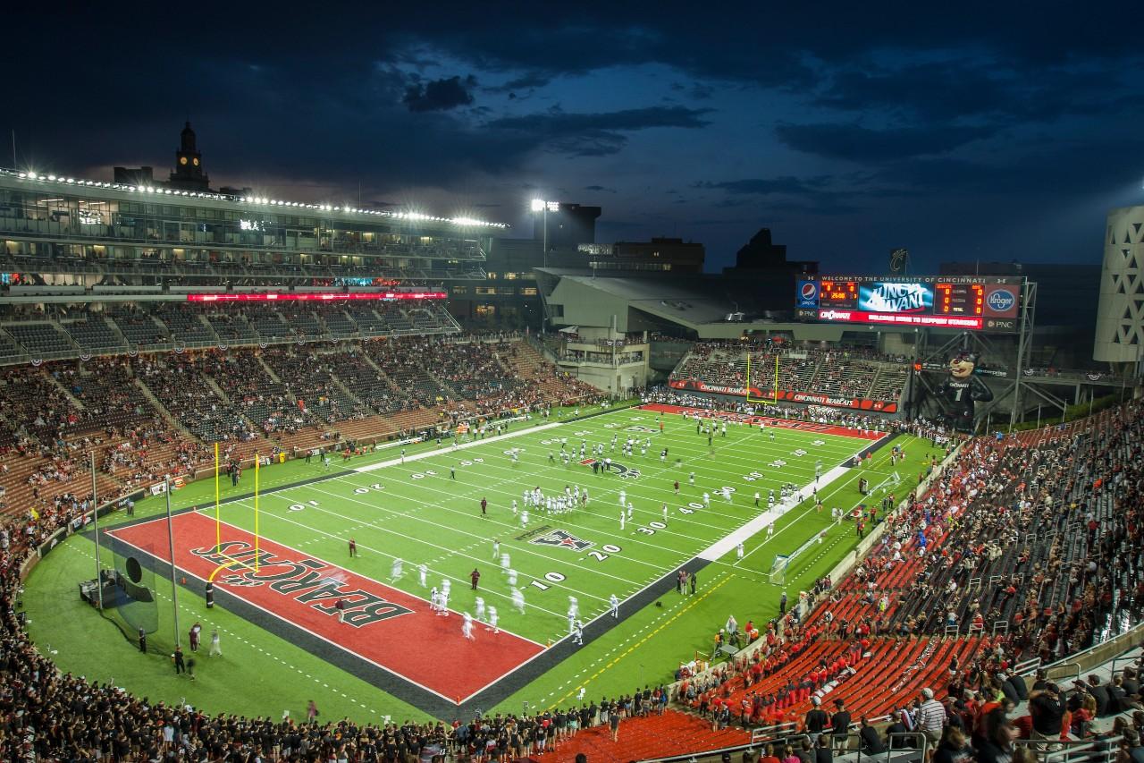 View of Nippert Stadium